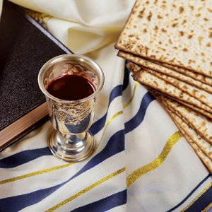 the cup of the covenant with matzah