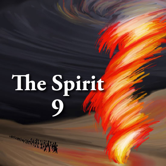 The Spirit 9 title slide