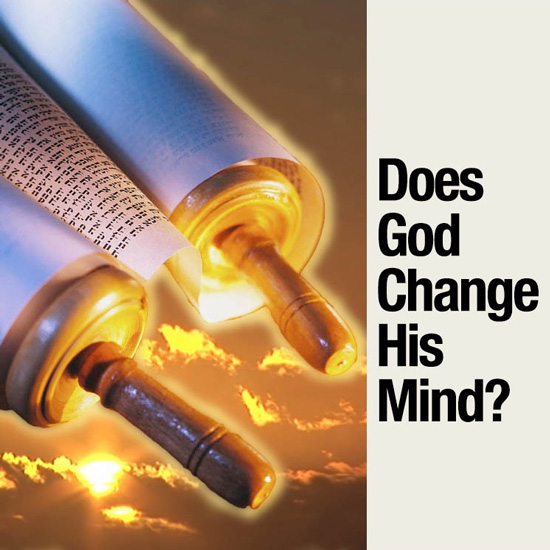 Does God Change His Mind - title slide