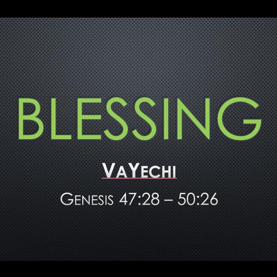 Blessing - title slide