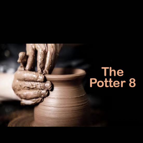 The Potter 8 title slide